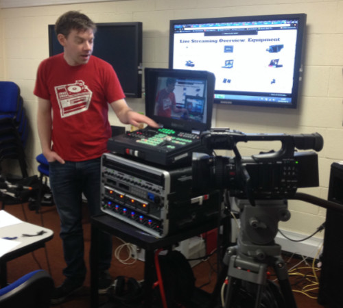 Live Streaming & Workshops in Stornoway